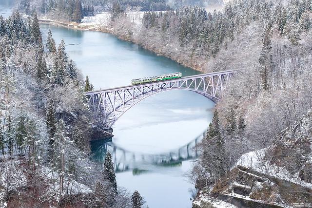 只見線第一鐵橋