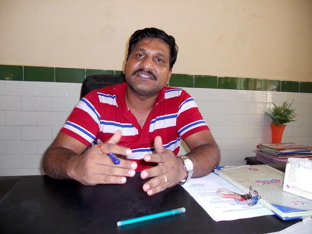 मरीगुडा सामुदायिक स्वास्थ्य केन्द्र के असिस्टेंट सिविल सर्जन डॉ. पी सोलोमन