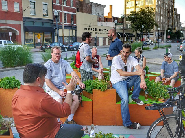the Parklet Ride