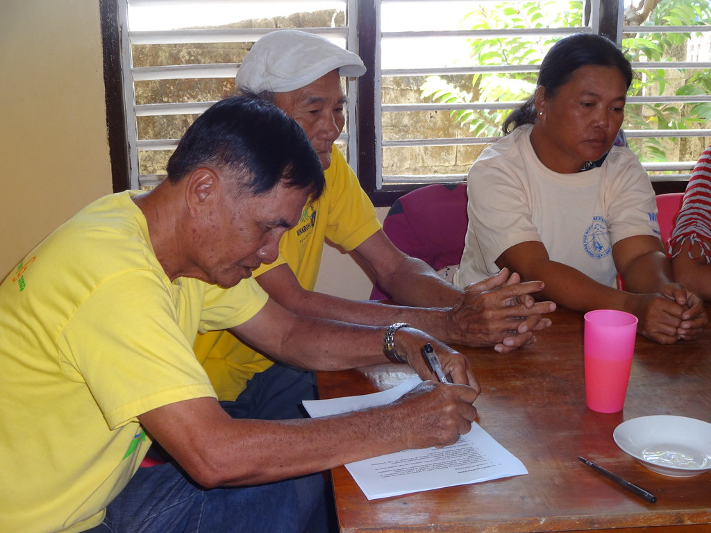 action medeor Project Monitoring in Sibalat, Magsaysay in Occidental Mindoro