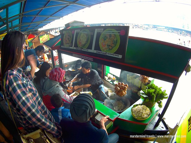 Floating Market in Lembang Indonesia