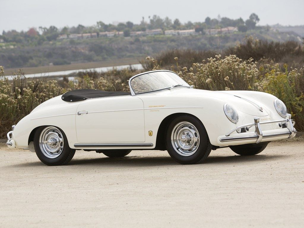 Porsche 356A 1500 GS Carrera Speedster by Reutter для рынка США. 1955 – 1957 годы