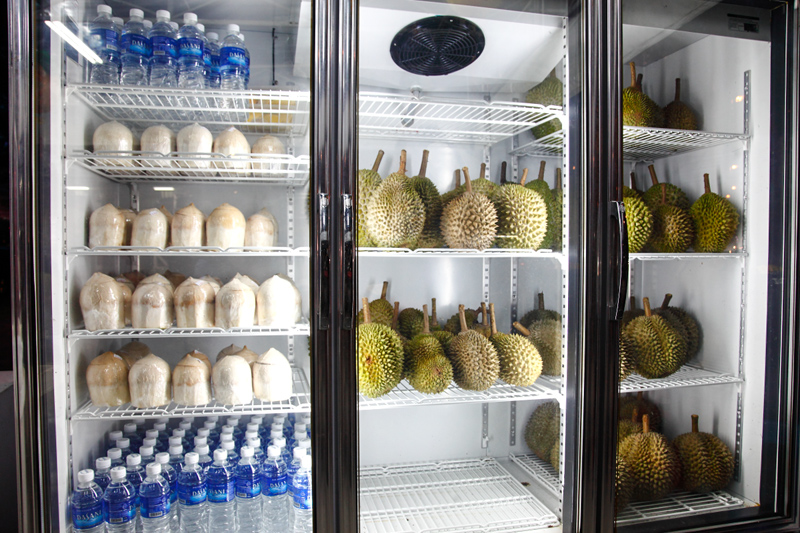 Durian in Fridge