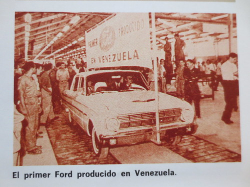 First Ford built by Ford of Venezuela, 1963 Falcon