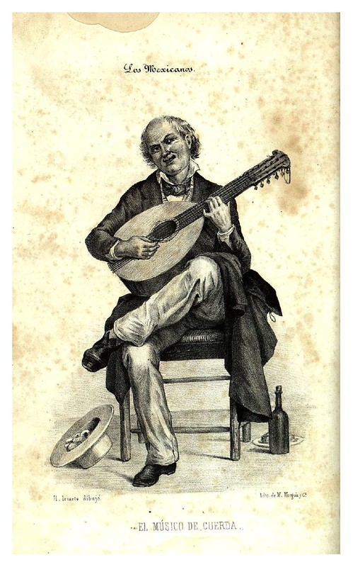 014- El musico de cuerda-Los mexicanos pintados por si mismos- Colección digital UANL
