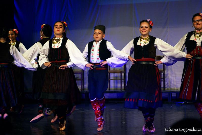 Выступление ансамбля из Зальцбурга