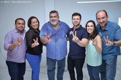 Palestra com Sérgio Sobreira (Coligação Unidos Pela Inovação no Ipu)
