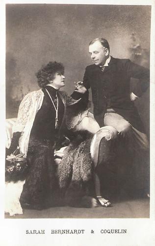 Sarah Bernhardt and Benoît-Constant Coquelin