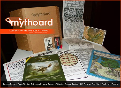 Mythoard Contents