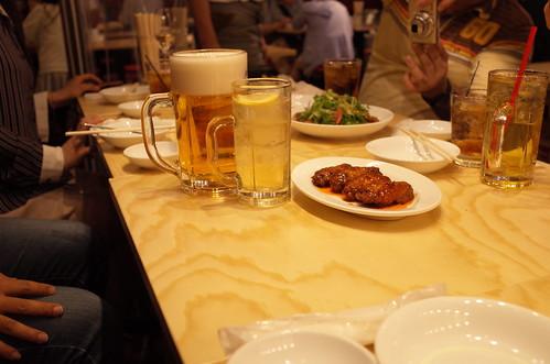 八田與一 筋トレ!生ビール