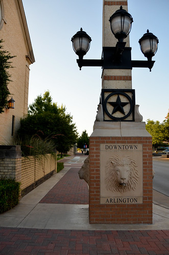Downtown Arlington Texas