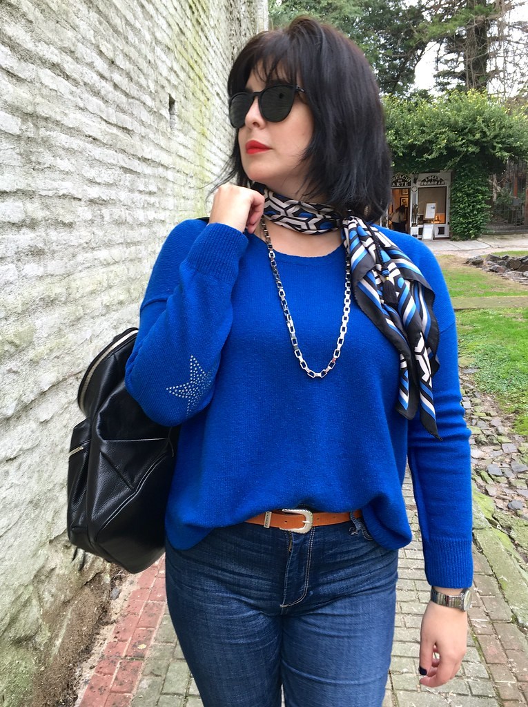 10 Outfit of the Day - Blues Black