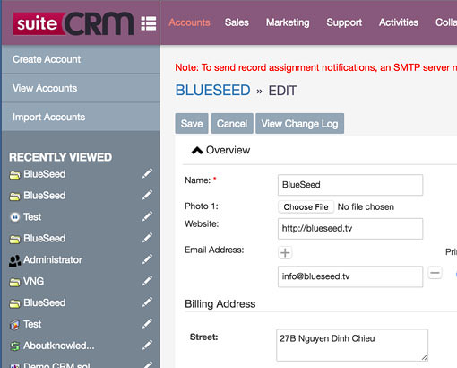 Bootstrap YouAddOn 2 theme for SuiteCRM