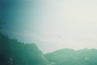 直島の朝の霧だ