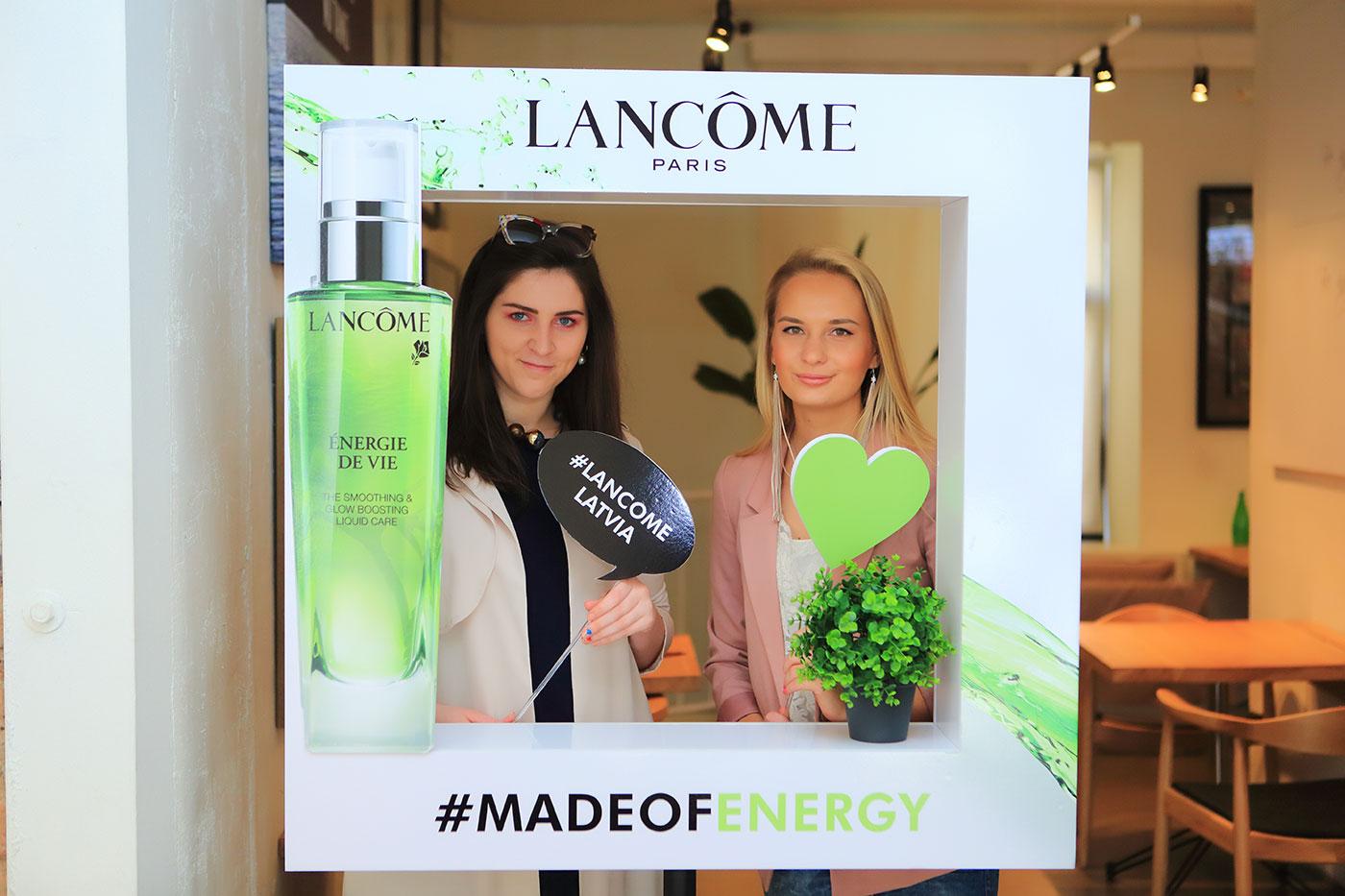 Lancome Energie de vie blogger event