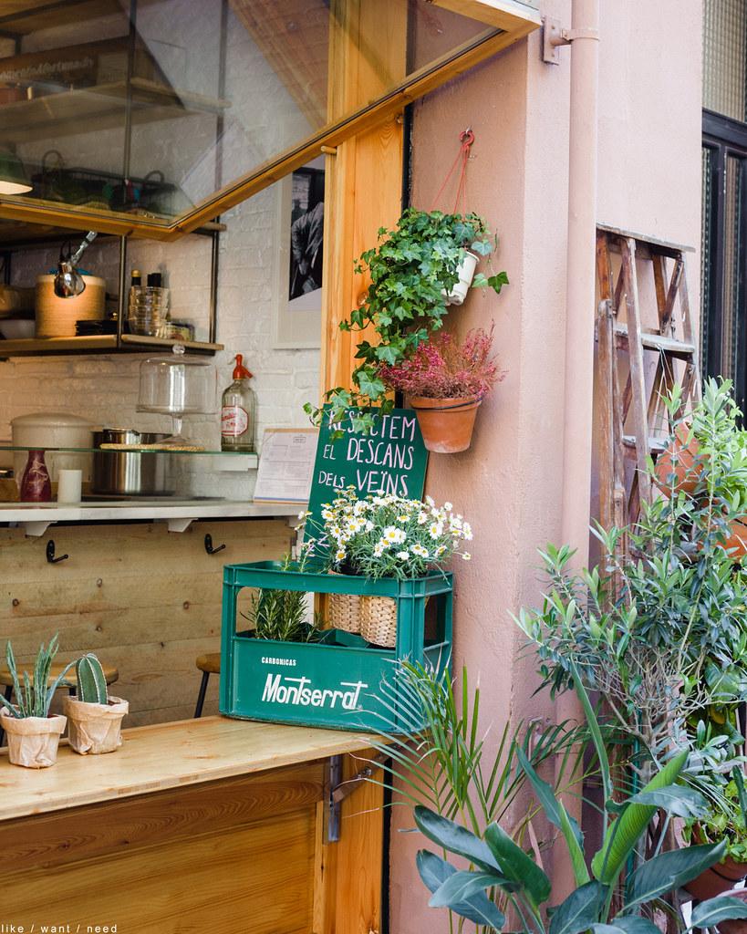 Restaurant Window, Gràcia