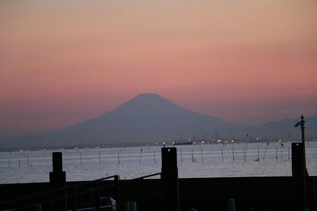 木更津 ウユニ塩湖 江川海岸 夕景