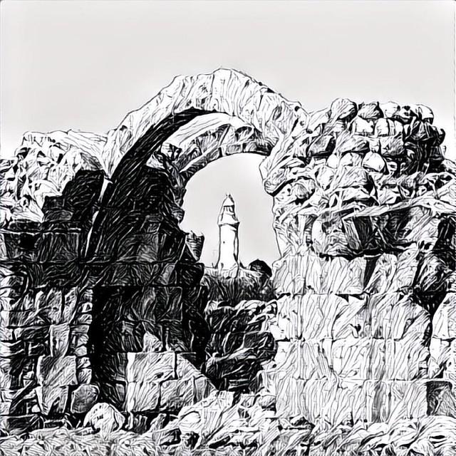 Археологический парк Пафоса #кипр #cyprus #pagos #paphos #пафос #prisma #prismaatt #prismainsta #prismaru