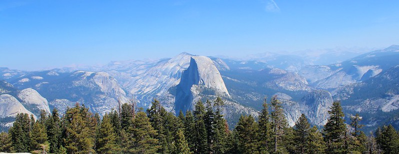 Yosemite Panorama at Sentinel Dome