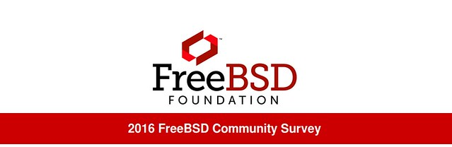 2016-os FreeBSD közösségi felmérés