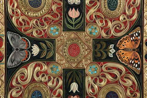 Gospel by Lisa Nilsson - Center Quilled Detail