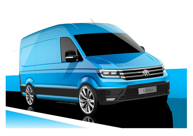 Новий фургон Volkswagen Crafter