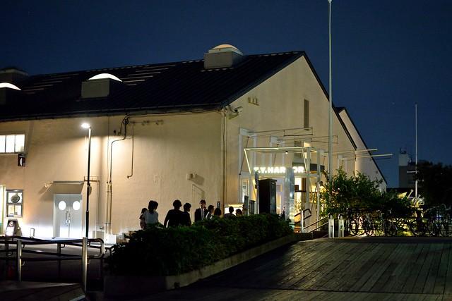 天王洲_t.y.harborの夜の外観