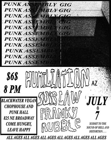 7/7/16 Humiliation/SussLaw/Franky/Rubble