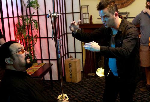 Mattias Titus Paar regisserar Steven Seagal