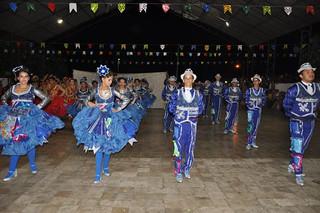 C&A Raízes Potiguares encanta o público na sua apresentação oficial em Santo Antônio