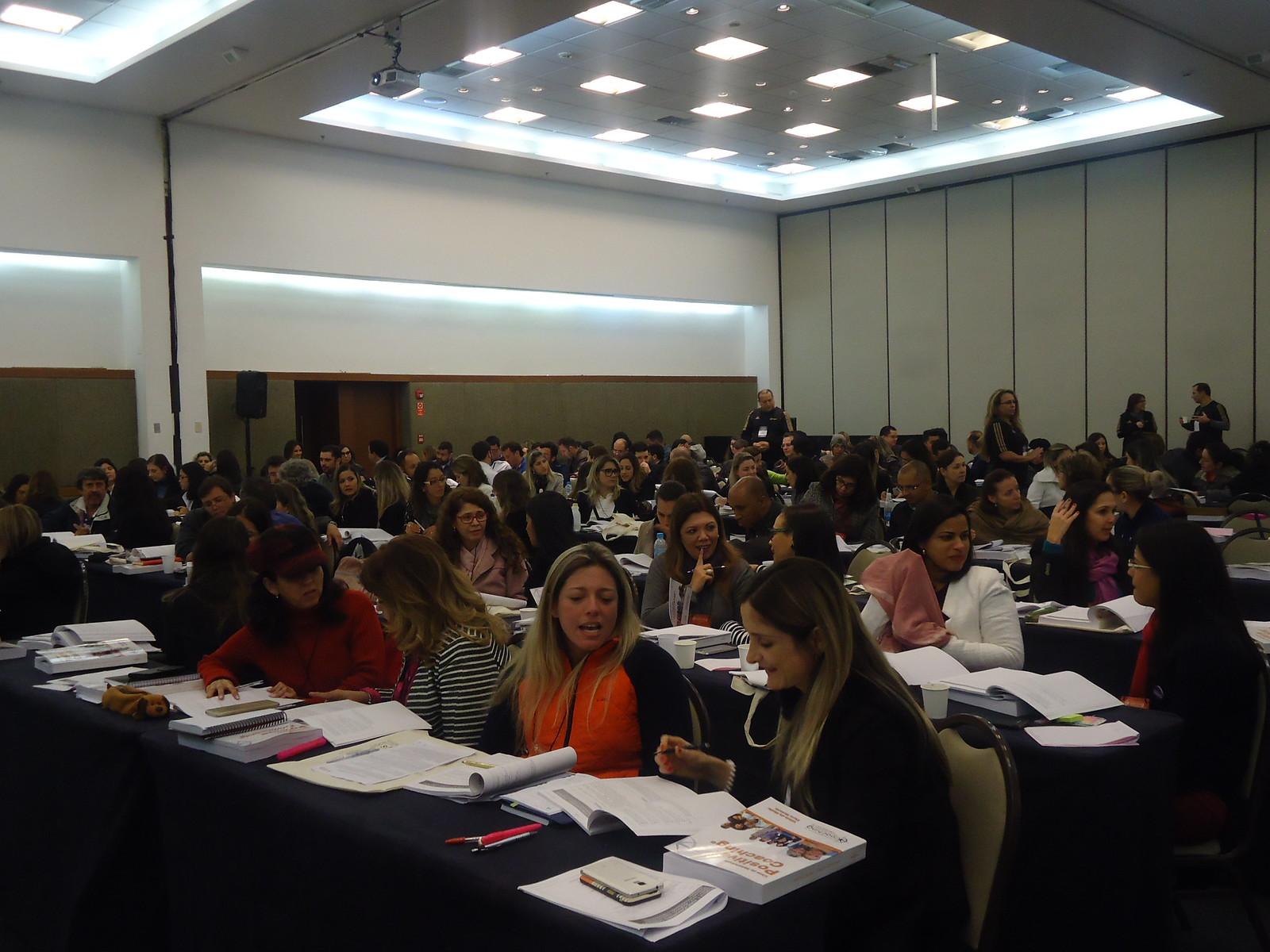 Público participa de curso da SBCoaching