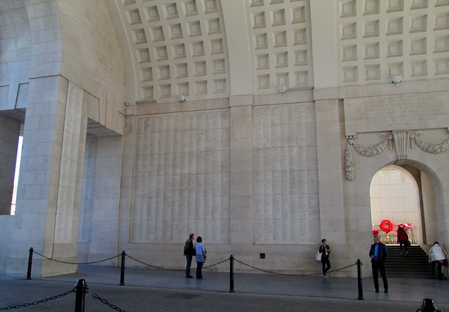 Menin Gate Interior Wall
