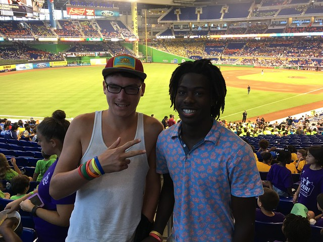 Inspirations for Youth and Families attends Miami Marlins Game thumbnail