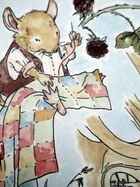 Hedgefairy: Brambly Hedge Tribute - Detail: Tailor finished