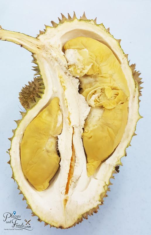 musang queen durian flesh