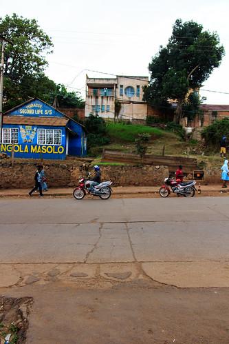 A house in Bukavu