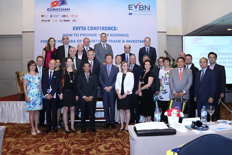 EVFTA Conference - Meet with Chief negotiators of EU and Vietnam FTA