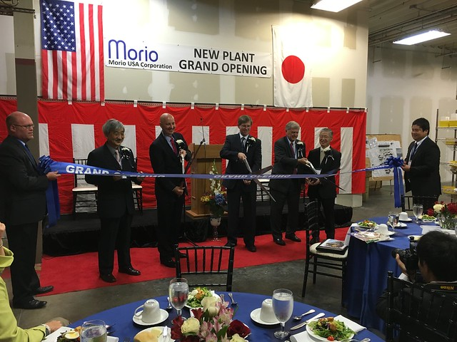 Gov. Ricketts Congratulates Morio USA on Lincoln Facility Expansion - 8/3/2016