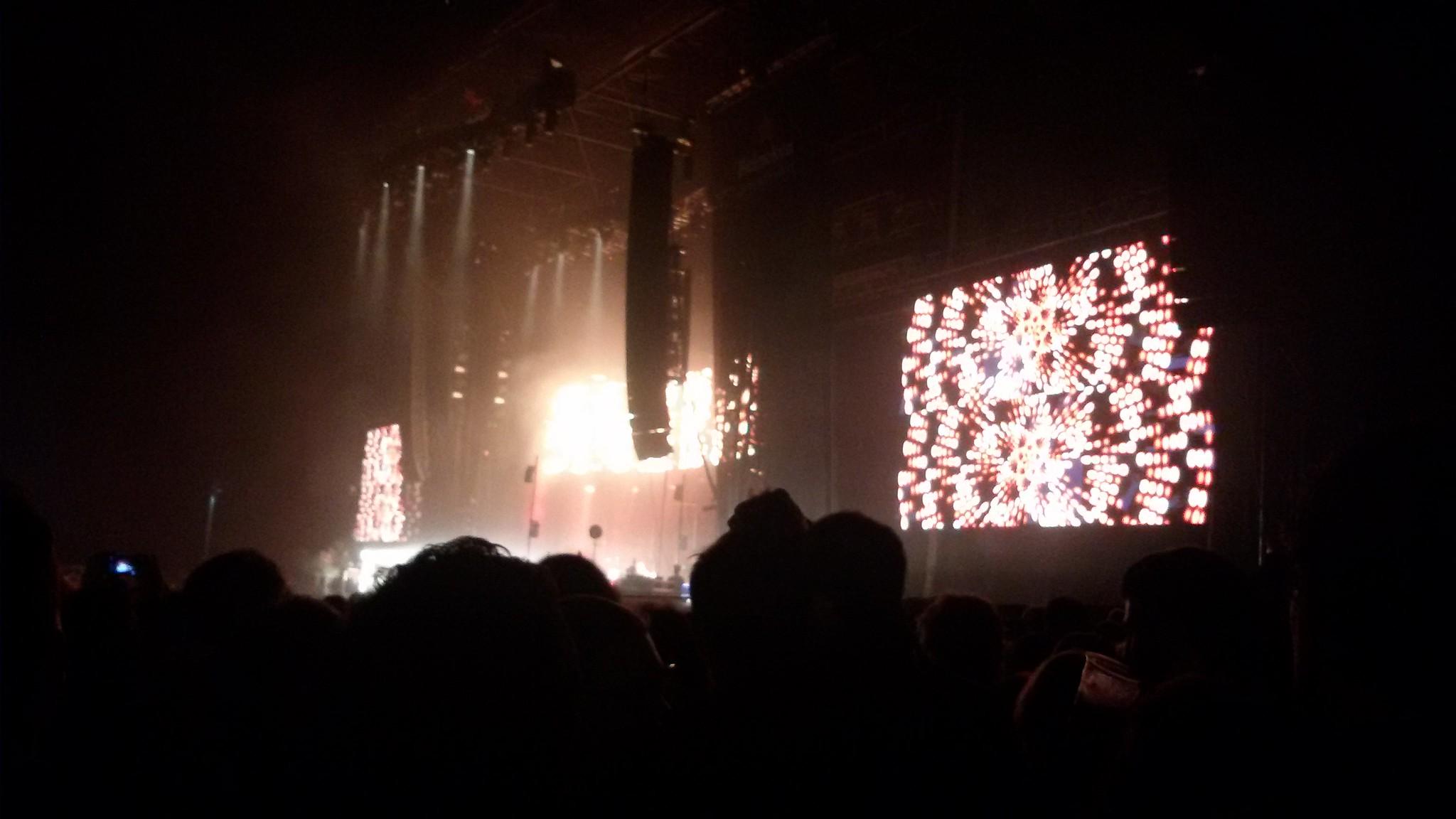 Radiohead, Primavera Sound, Barcelona, 3 junio 2016