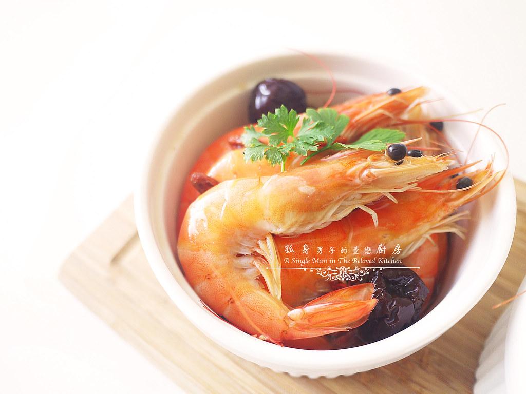 孤身廚房-超乎想像!解凍即食和現煮的一樣好吃—Mess Maker.蝦攪和.冷泡蝦10