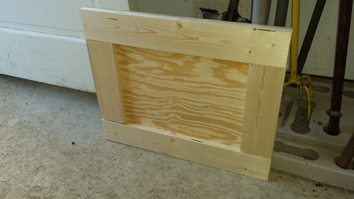 Framed plywood