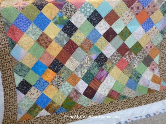 Duck Border Charity Quilt ~ From My Carolina Home