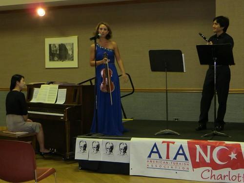 Classical Music Trio Concert at UNCC 2014