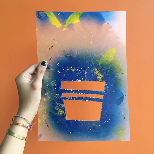 Papercut Stencil