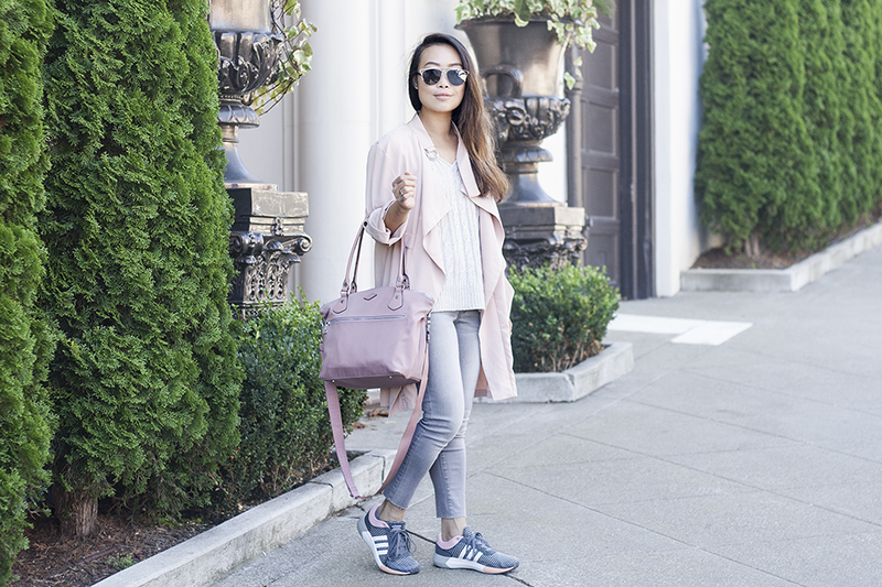 11sporty-chic-blush-pink-trench-denim-adidas-sneakers-style-fashion