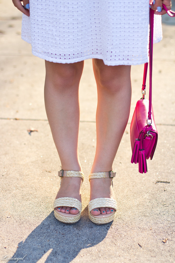 white eyelet lace dress, espadrille sandals, coach penny-9.jpg