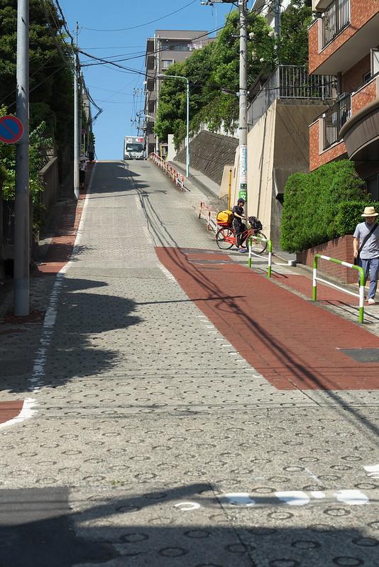 東京路地裏散歩 目白ののぞき坂 2016年7月18日