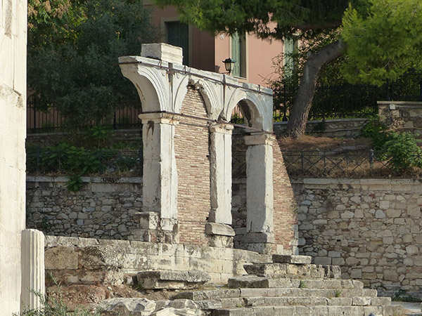 arcades agora romaine