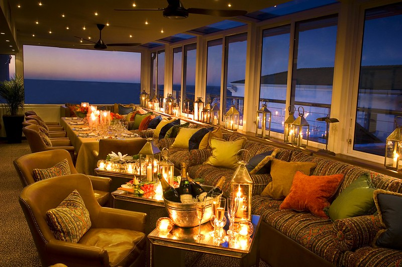 Conservatory at the Twelve Apostles Resort and Spa, Cape Town, South Africa.