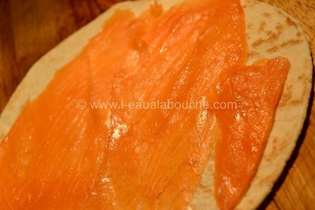 Bouchées de Tortilla Saumon Fromages Fines Herbes © Ana Luthi Tous dorits réservés 001